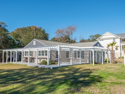 Photo for Newly Updated! PERFECT for Large Groups! Walk to beach, allows 1 small dog!