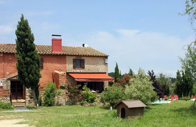 Built in Catalan style. Immersed in nature, but not too isolated.