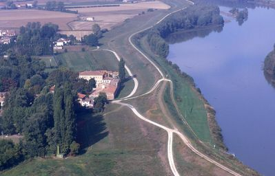 The Villa from the air