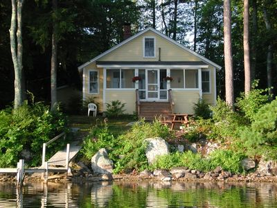 Photo for Charming Cottage on Mirror Lake, Tuftonboro, NH,lakeside, $1,550/1,200 wk.