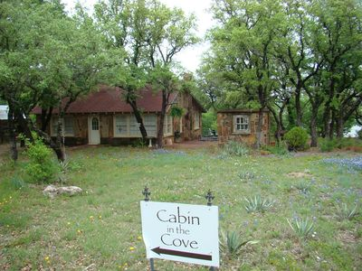Photo for LAKEFRONT COTTAGE w/ Private Dock On Lake Brownwood