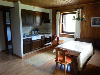 Photo for Apartment No. 3 + 5 (6P) 3 bedrooms / 2 shower, toilet - spruce log cabin