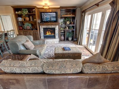 Photo for Balcony overlooks River Run!  Enjoy all of Keystone from this excellent location.  With 2 King sized beds, this property is a great choice for two couples or a family.  Living room includes a queen sofa sleeper.