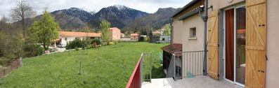 Photo for 2 bedroom apartment in quiet and green location, spa village, hiking