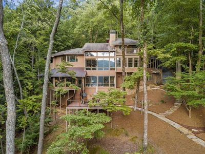 Photo for NEW BIG CANOE Lakefront Lodge on Lake Petite with 5 bedrooms, 4.5 baths