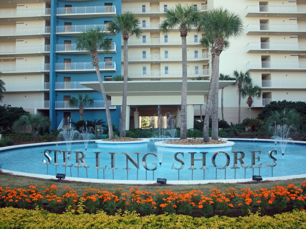 One Bdrm Great View And Deal Sterling Shores Destin Florida One Bedroom Rental 23626