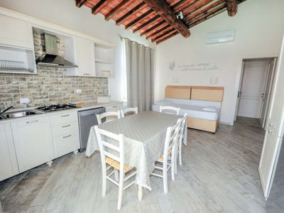 Photo for Apartment Fattoria Palazzeta Bilo 4 in Cecina - 4 persons, 1 bedrooms