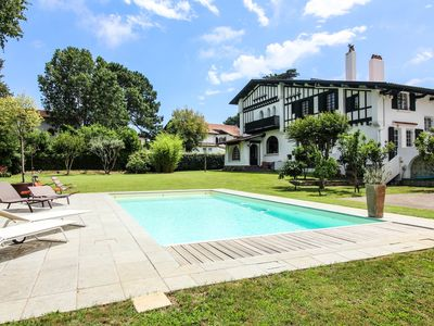 Photo for KEYWEEK PARK * Basque Villa - Pool, Garden, Fronton - Calm - Close to BTZ Center