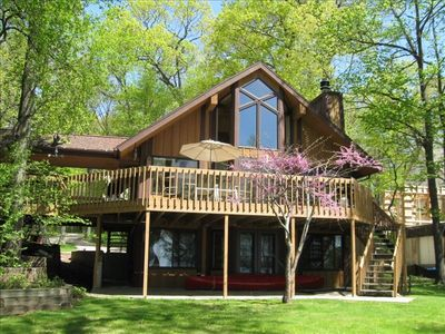 Photo for Luxurious Lake Front Cottage on Beautiful Green Lake Wisconsin