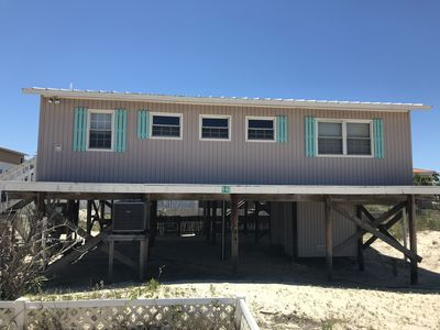 Photo for The perfect beach getaway at an affordable price!  1 block to beach, fenced yard
