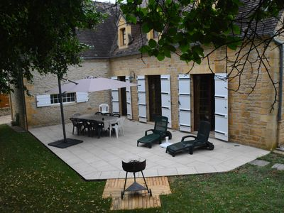 Photo for Near Sarlat ,Perigord Noir,Charming Home Perigord Style, Heated Pool