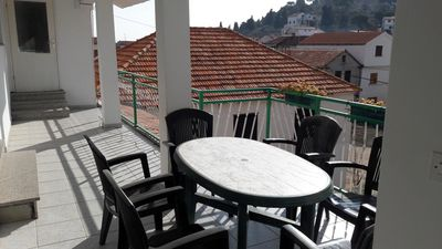 Photo for Two bedroom apartment with terrace Tribunj, Vodice (A-12144-b)