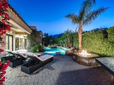 Photo for Custom Mediterranean Estate With Guest House, Basketball Hoop, Billiards Table