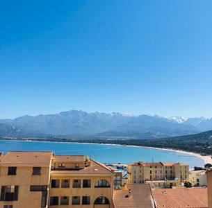 Photo for Beautiful T4 downtown Calvi overlooking the bay and the citadel