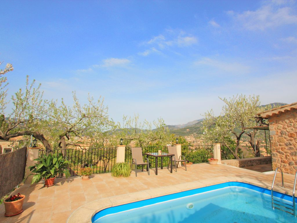 Charming Cottage With Swimming Pool And Garden Lovely Views Soller Majorca Balearic Islands
