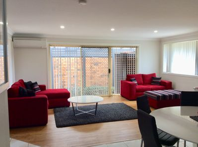 Open plan lounge and dinning