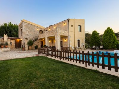 Photo for Traditional Villa with 4 Bedrooms, Fenced Pool and Amazing Gardens!