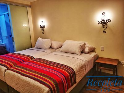 Photo for Nice room with prívate bathroom locales in the heart of Cusco