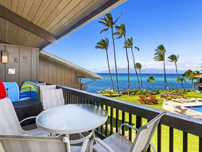 Photo for Breathtaking Newly Remodeled Oceanfront Condo 2BD/2BA - Remarkable Molokai Views