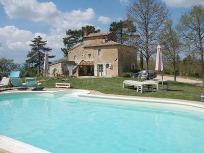 Photo for 4 bedroom Villa, sleeps 8 in San Casciano dei Bagni with Pool and WiFi