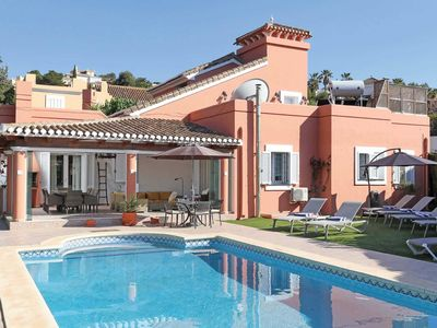 Photo for 6 bedroom Villa, sleeps 12 in Atamaría with Pool, Air Con and WiFi