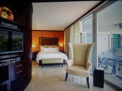 Photo for Oceanfront Condo Suite w/Spa in 5 Star Property - Ocean Drive - South Beach