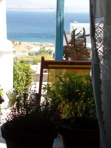 Photo for traditional cylcadic beach house with sea view, Agios Sostis, Tinos