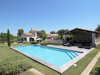 Photo for Recent house with pool and garden