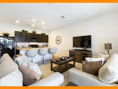 Photo for Solterra Resort 17 - Luxury townhome with private pool near Disney