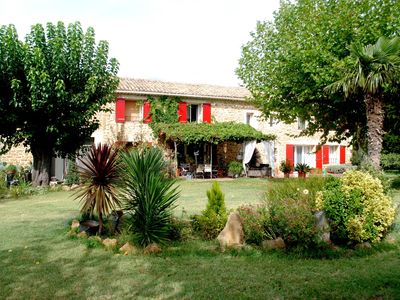 Photo for Provencal farmhouse with swimming pool Rental