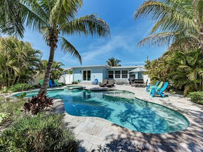 Photo for Blue Bayou on Anna Maria - Private pool home on the canal