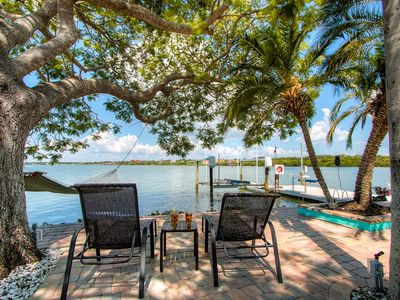 Photo for 180° Waterfront Indian Rocks Home- Boat & Dog Friendly- Dreamy Views!!