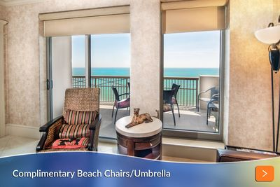 Living Room with Access to Oceanfront Balcony