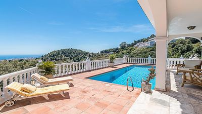 Photo for Detached Villa with Amazing Views and Private Pool in Mijas, Costa del Sol