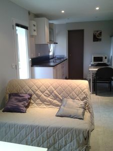 Photo for Pretty T2 ground floor, 500m from Solidor Tower, near shops
