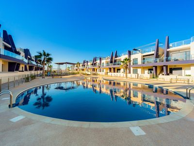 Photo for Luxurious apartment 400 meters from the sea, air conditioning, Wi-Fi