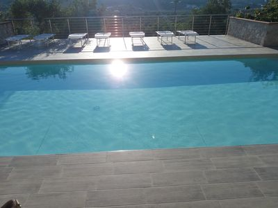 Photo for apartment with pool and panoramic view