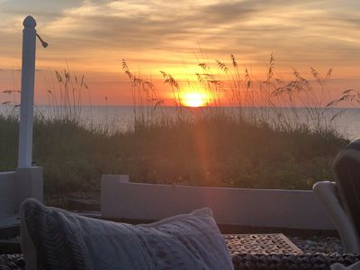 Photo for Home directly on THE BEACH! *DIRECT OCEANFRONT HOME**** The Cottage on the Shore