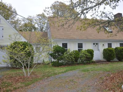 Photo for Quiet neighborhood, clean classic cape home on 1/2 acre of land.