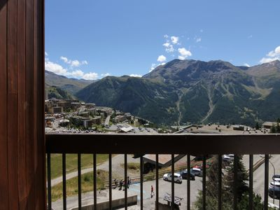 Photo for Beautiful Studio 4p, 10 meters from the slopes, beautiful view, Resort center