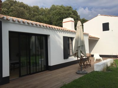 Photo for Charming house, new, Noirmoutier 85, 300 m from the beach of Clère,