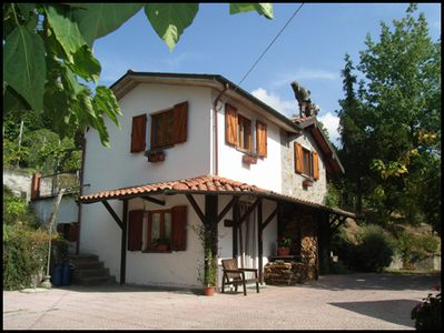 Photo for Totally private cottage with own pool, amazing views and close to Barga!