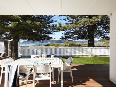 Photo for Patonga Beachfront Oasis - The Pines