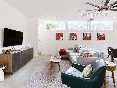 Photo for Bask in Light at an Artistic Townhouse Minutes from Downtown
