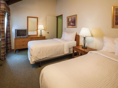 Photo for Entrancing Club Wyndham Resort at Fairfield Mountains, 1 Bedroom Deluxe Suite sleeps Four, Wake up to Golf
