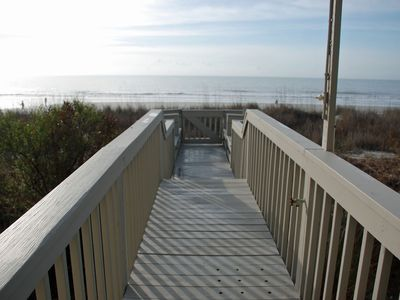 Photo for OCEANFRONT! With a Private Walkway to the BEACH LIMITED DISCOUNT AUG 17 - SEP 7!