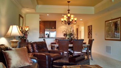 Photo for Luxury Suite- Near Both Water Parks, Golf Access, convenient 1st fl, w/courtyard