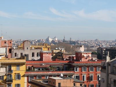 Photo for Trastevere, Panoramic View, Luxurious Apart,Terrace, Sleep 6, Airco, Wifi