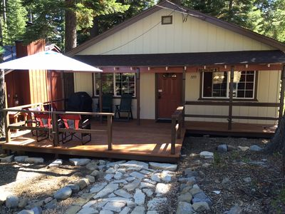 Photo for 2BR Cabin Vacation Rental in Tahoma, California