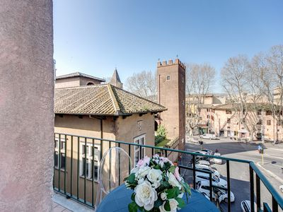 Photo for NEW OPENING - Trastevere with Beautiful View